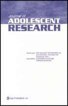 Cover of the Journal of Adolescent Research